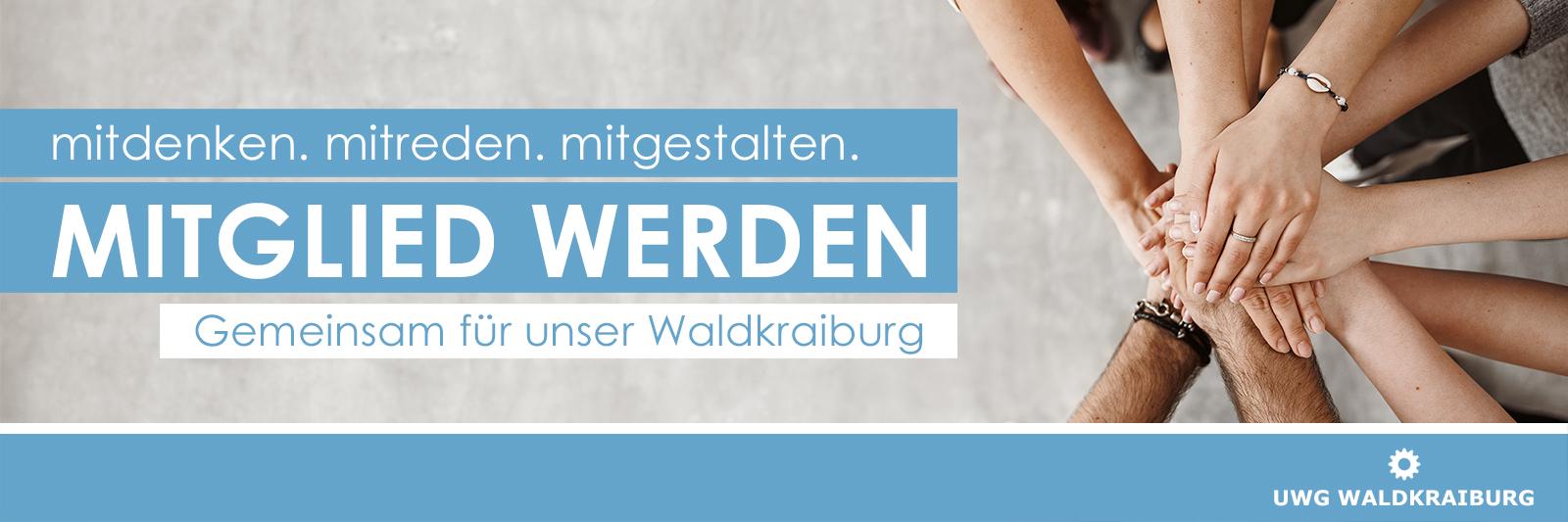 Mitglied werden - UWG Waldkraiburg