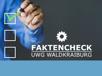 Faktencheck der UWG Waldkraiburg - sachlich und umfassend informiert
