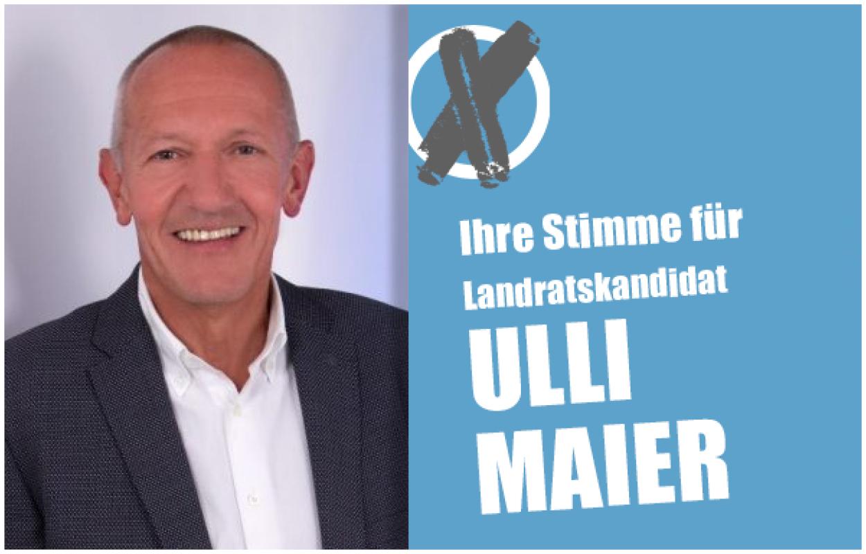 UWG Landratskandidat Ulli Mayer