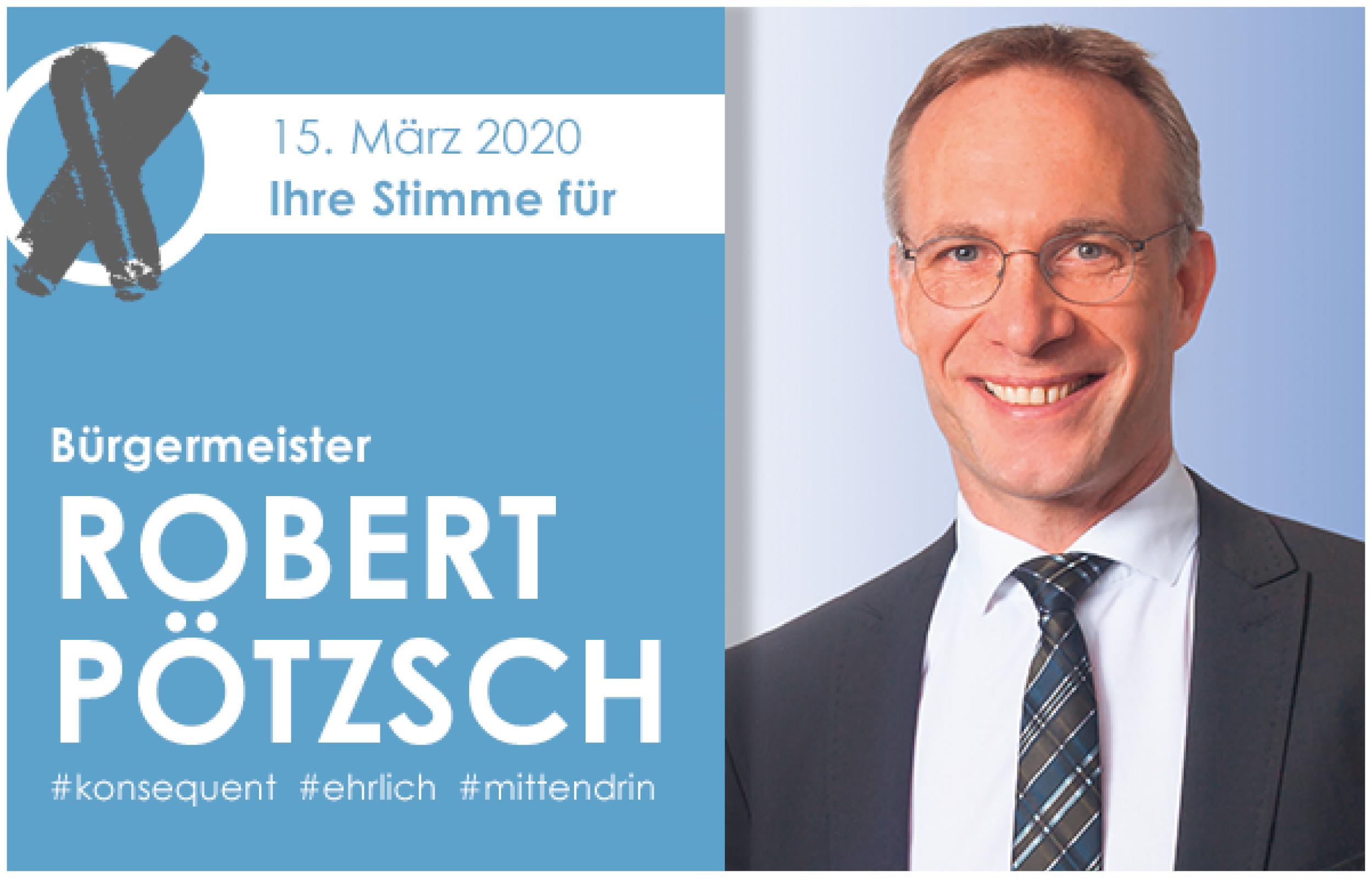 Bürgermeister Robert Pötzsch