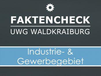 UWG Faktencheck Industrie- und Gewerbegebiet
